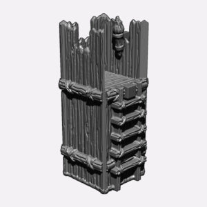 Tower – 28mm (3D File)